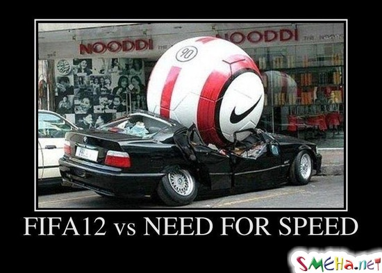 FIFA12 vs NEED FOR SPEED