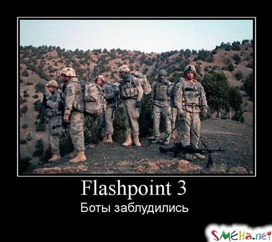 Flashpoint 3 - Боты заблудились