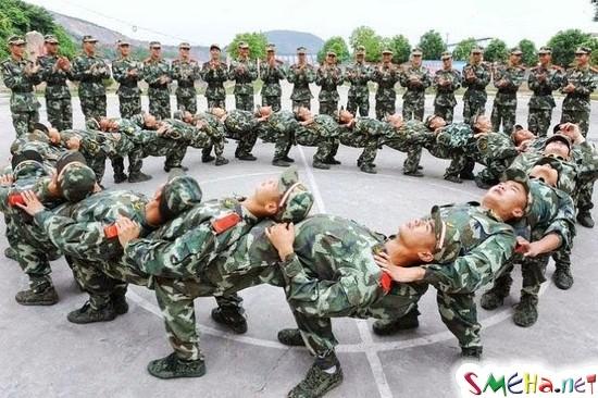 И чем это они в армии занимаются?
