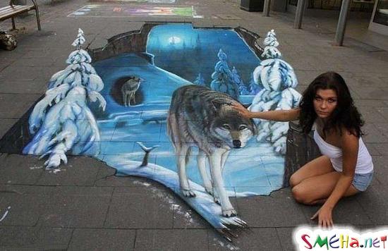 Зимний волк