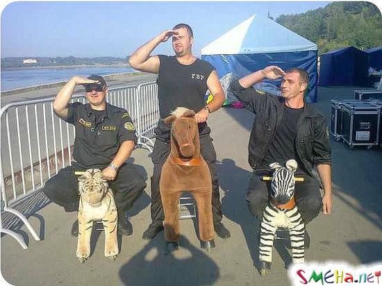 Русские богатыри не перевелись на земле русской...