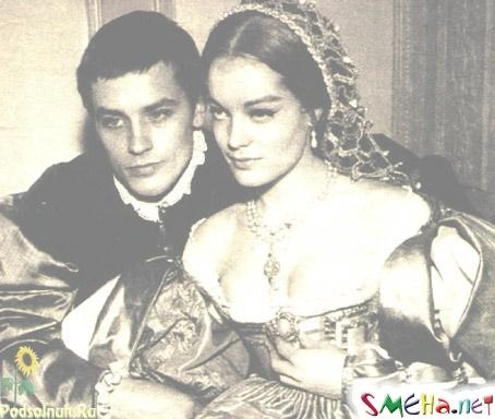 Ален Делон с Роми